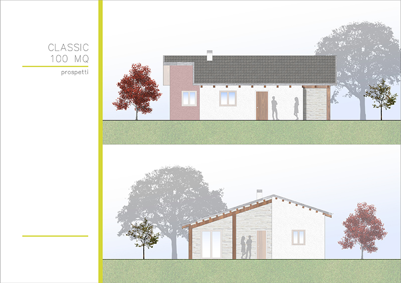 Casa In Legno 100 Classic My House Legno