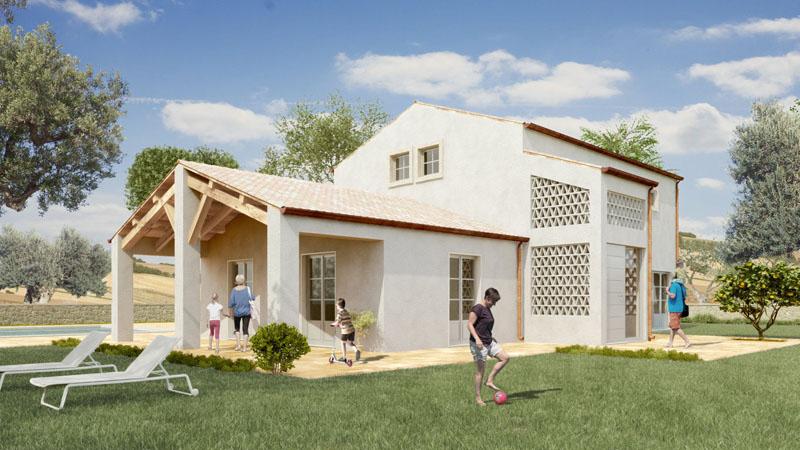 Casa In Legno 200 Classic My House Legno